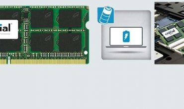 Crucial 8GB Single DDR3L SoDIMM Memory