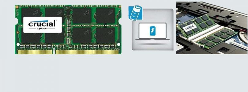 Crucial 8GB Single DDR3L SoDIMM Memory
