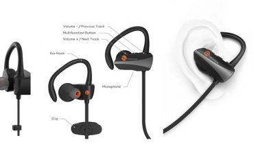TaoTronics Bluetooth Headphones Wireless In Ear Earbuds Sports Sweatproof Earphones TT-BH10 review