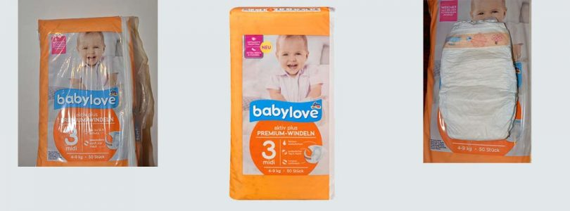 DM Baby Love diapers – nappies review
