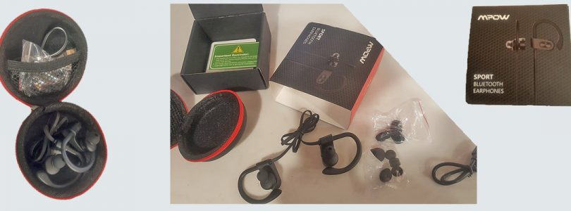 Mpow Flame Bluetooth Headphones review (Sport Bluetooth Earphones MPBH088AB In-Depth Review)